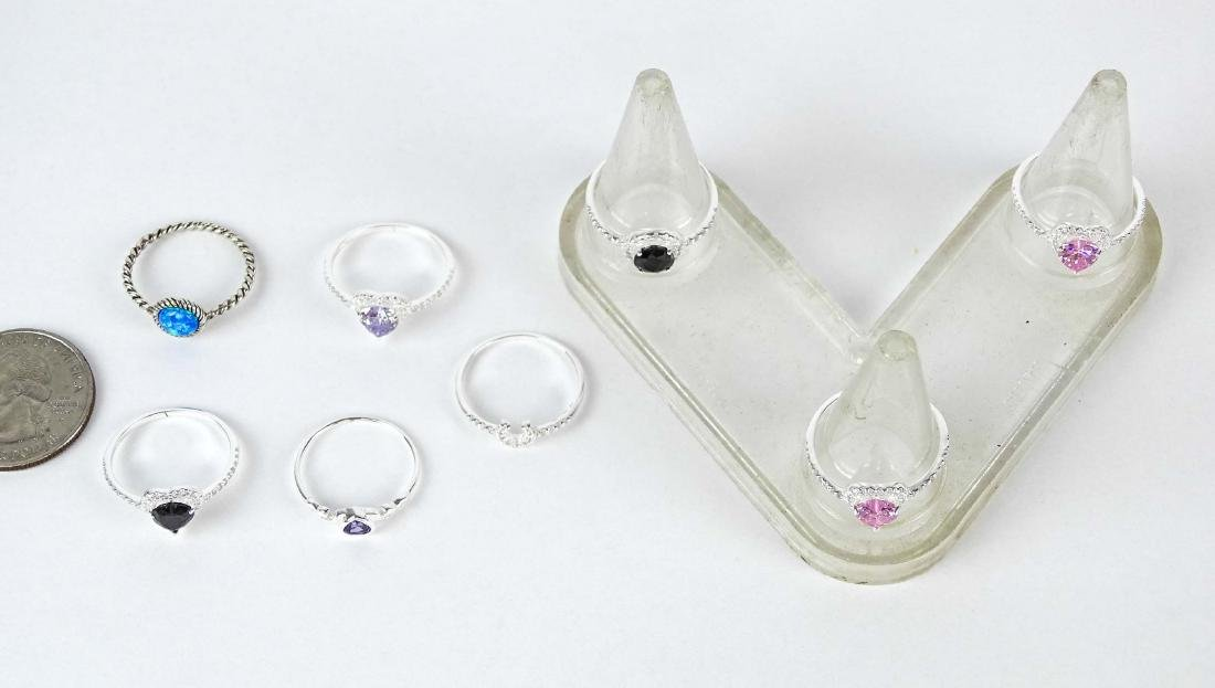 Sterling Silver Ring Lot
