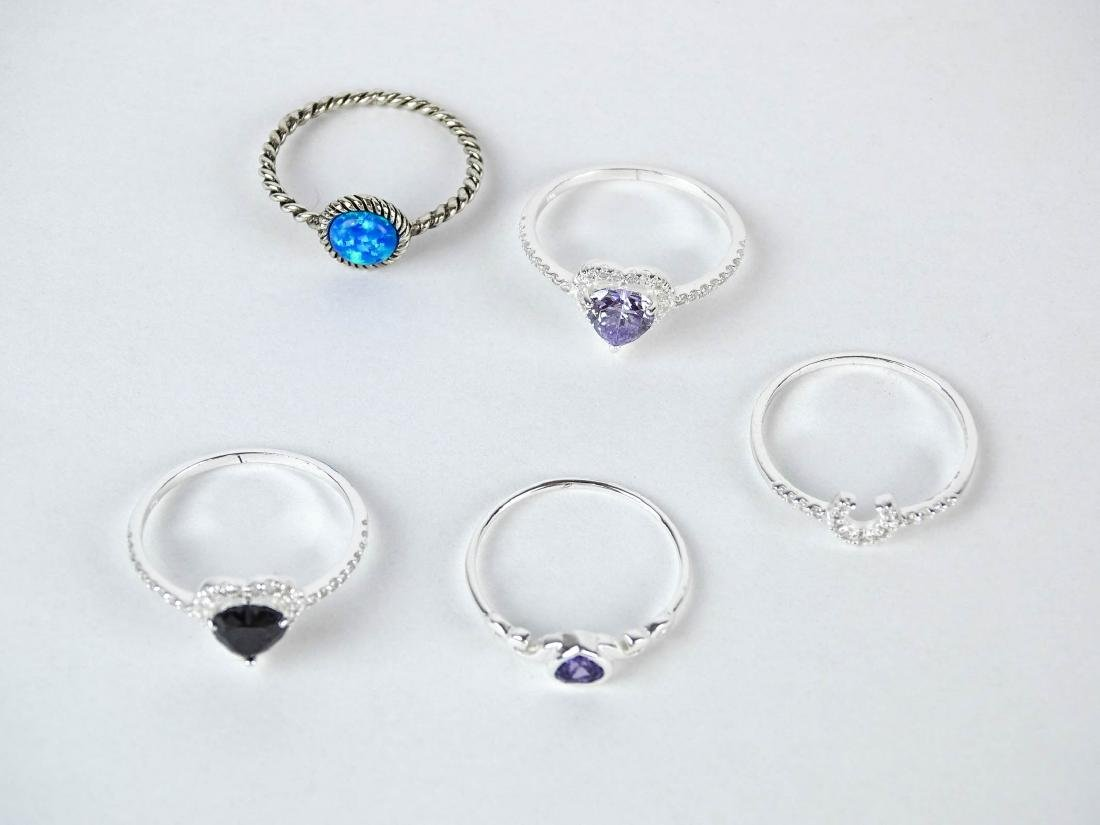 Sterling Silver Ring Lot - 2