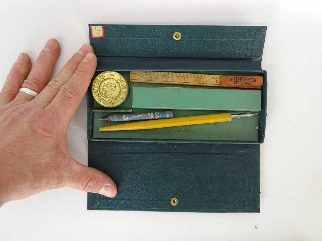 Vintage Writing Sets - 9