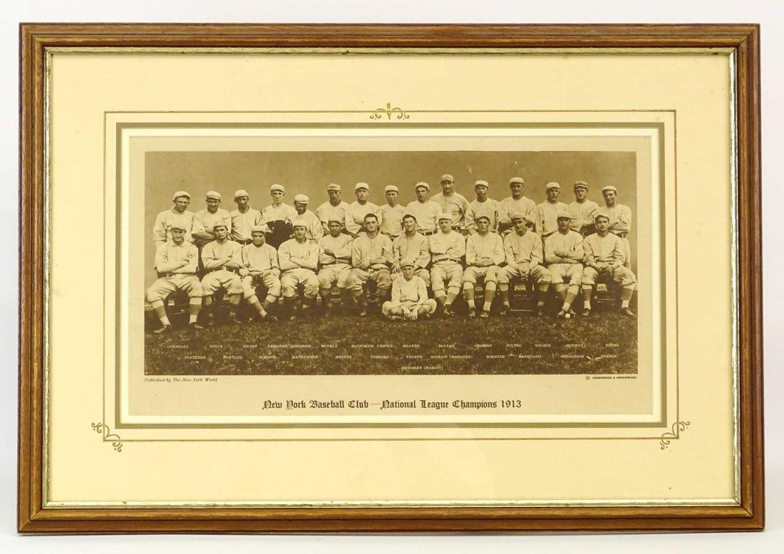 New York Baseball Club Photograph Print
