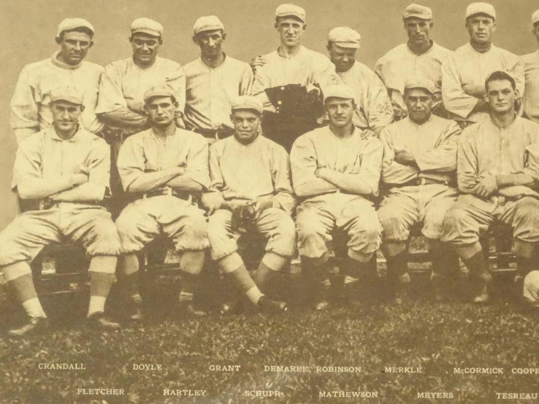 New York Baseball Club Photograph Print - 2
