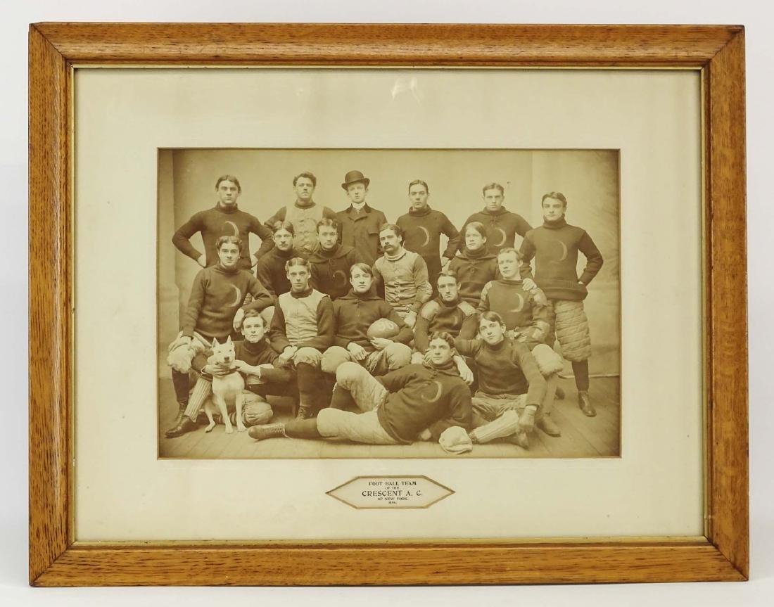 Early Football Team Photograph