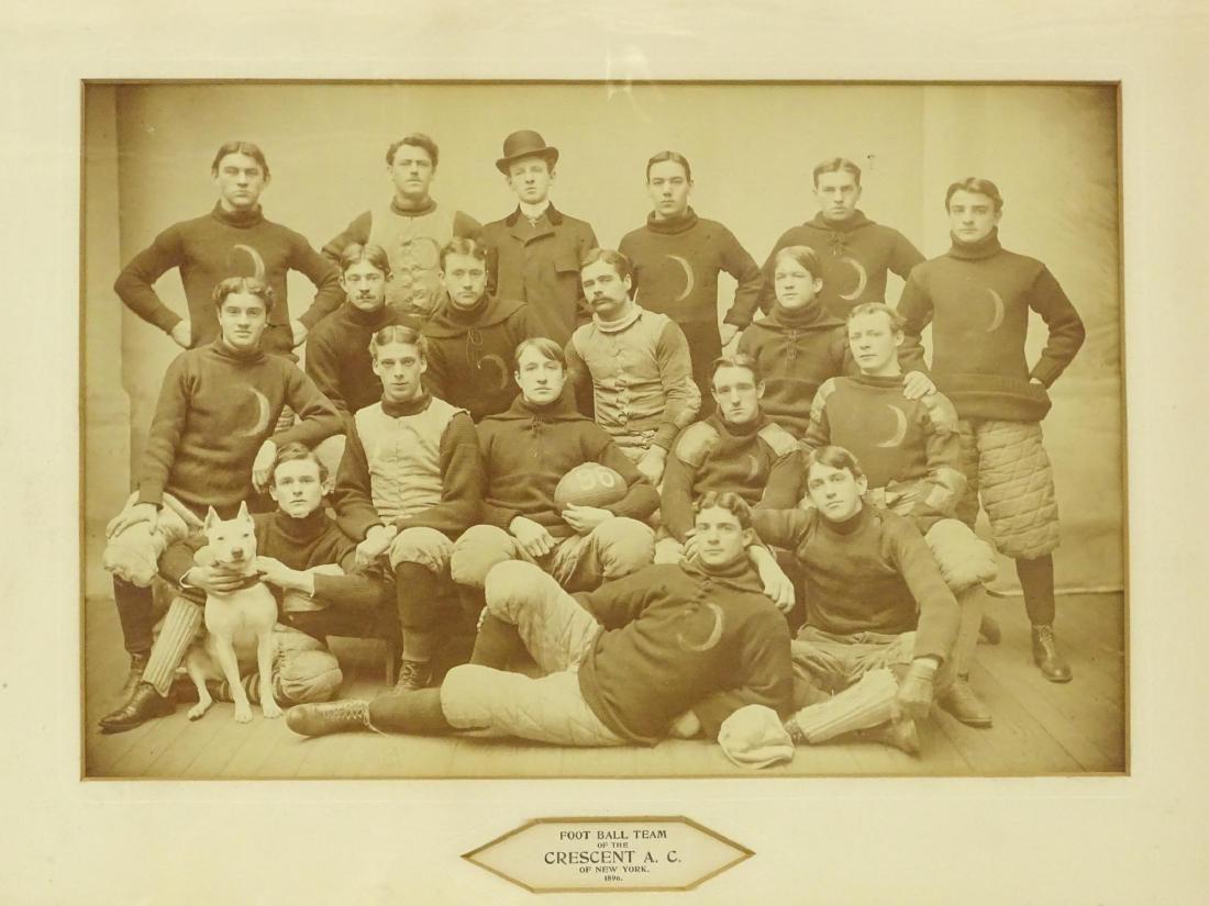 Early Football Team Photograph - 2