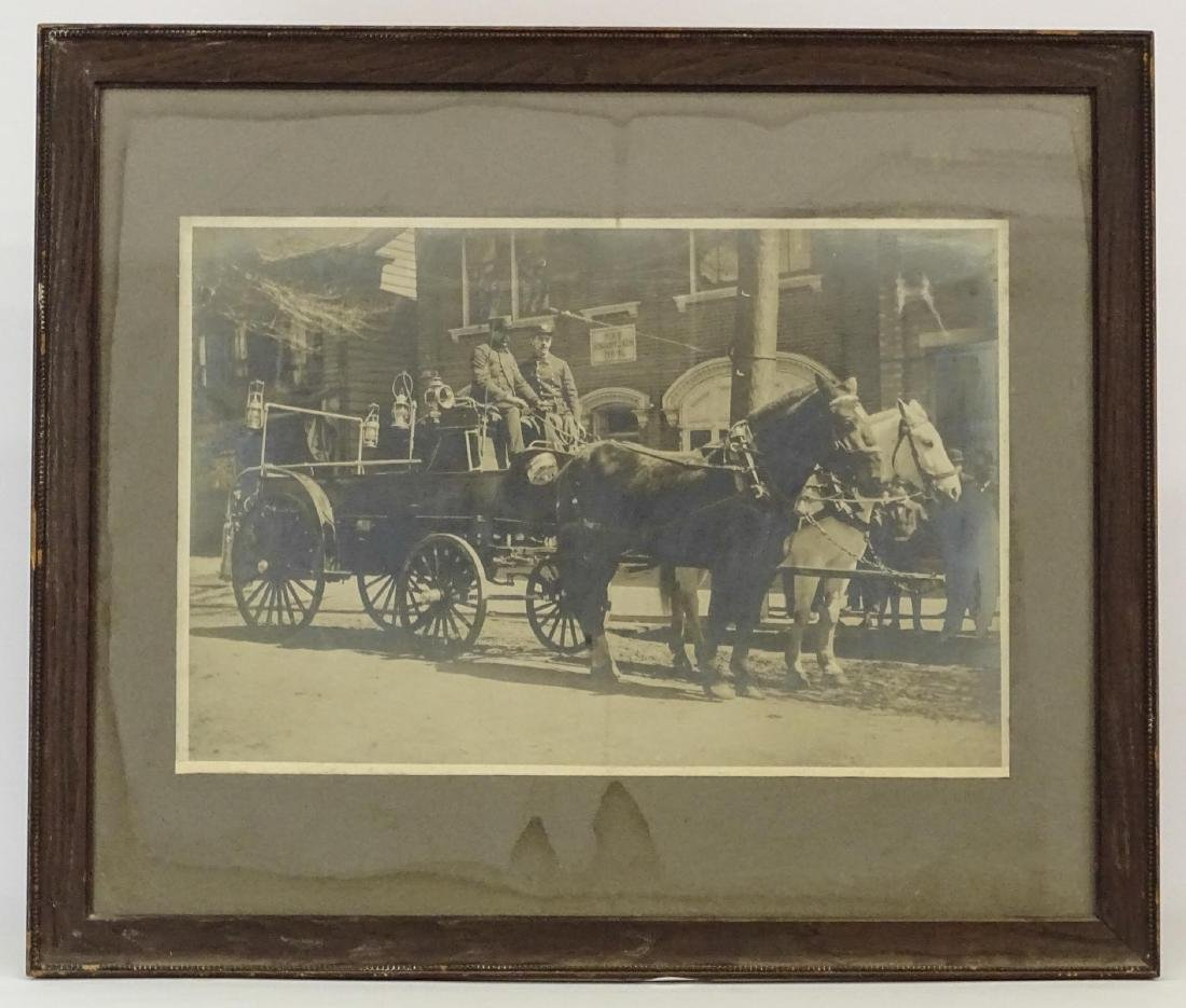 Early Fire Department Photograph