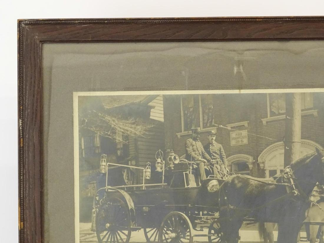 Early Fire Department Photograph - 3
