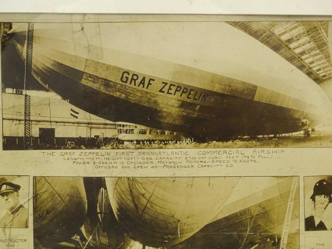 Early Graf Zeppelin Photograph - 2