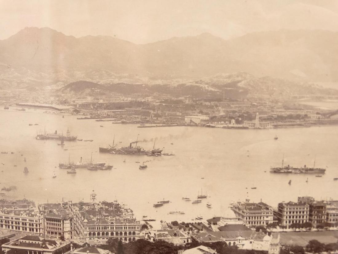 Hong Kong Harbor Photograph - 5