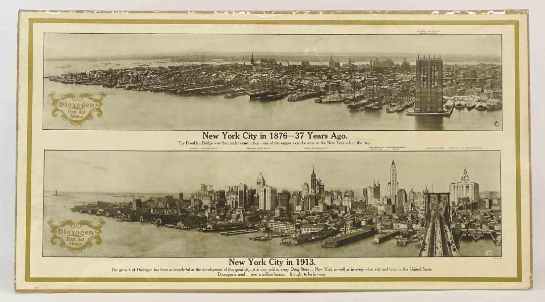 1913 New York City Print