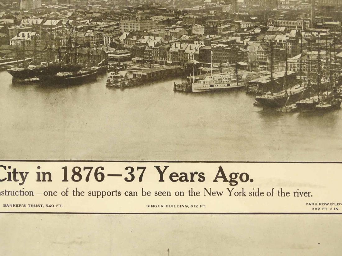 1913 New York City Print - 5