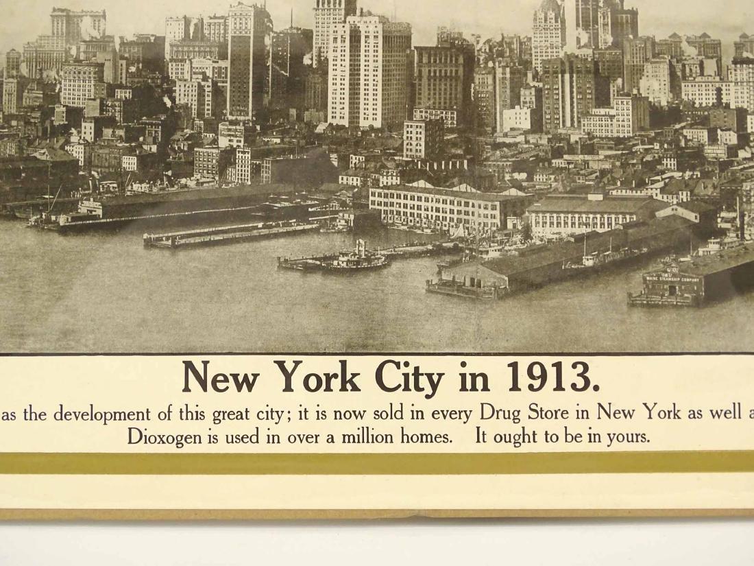 1913 New York City Print - 7