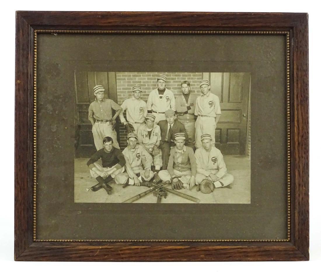 Baseball Team Photograph