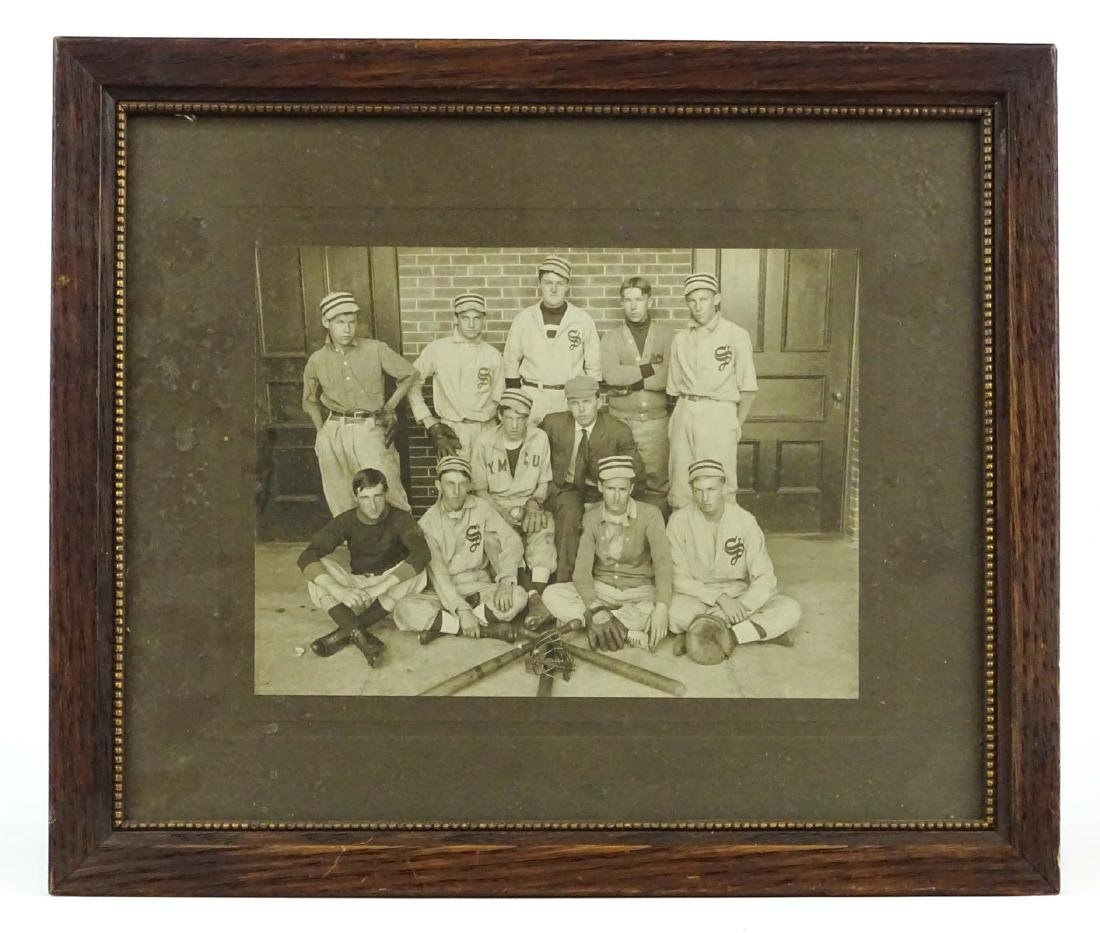 Baseball Team Photograph