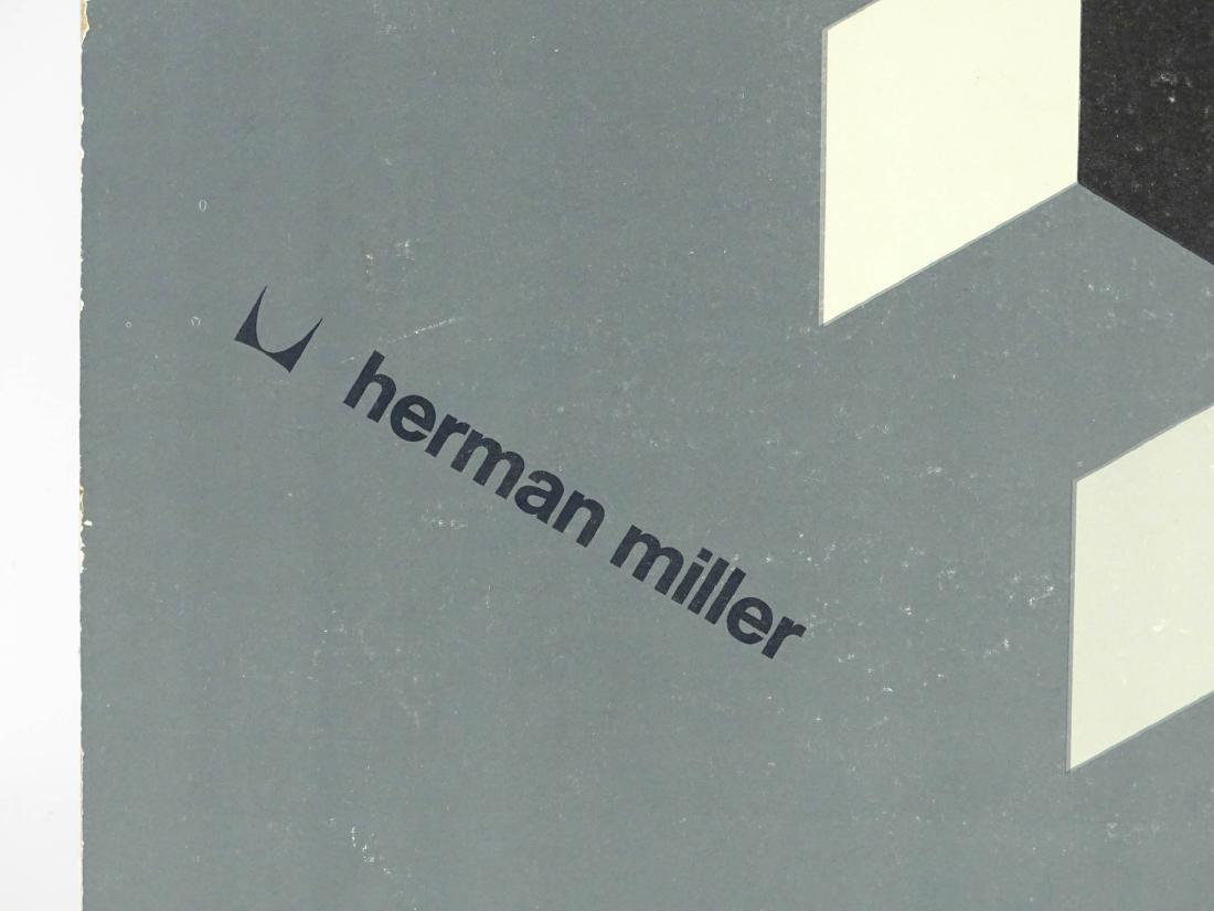 Herman Miller Vintage Poster - 3
