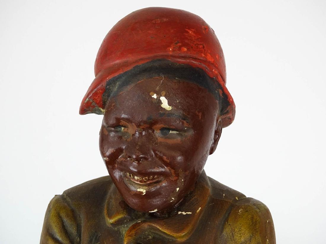 Early Plaster Black Americana Figure - 2