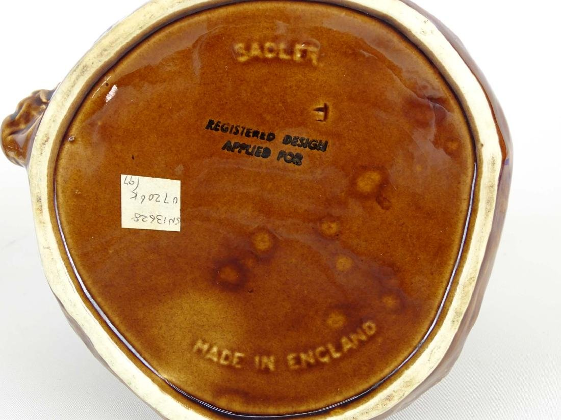 Sadler Pottery Sugar Bowl - 5
