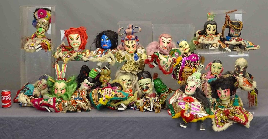 Siamese Puppets