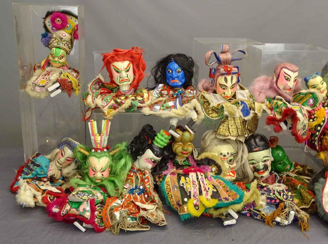 Siamese Puppets - 2