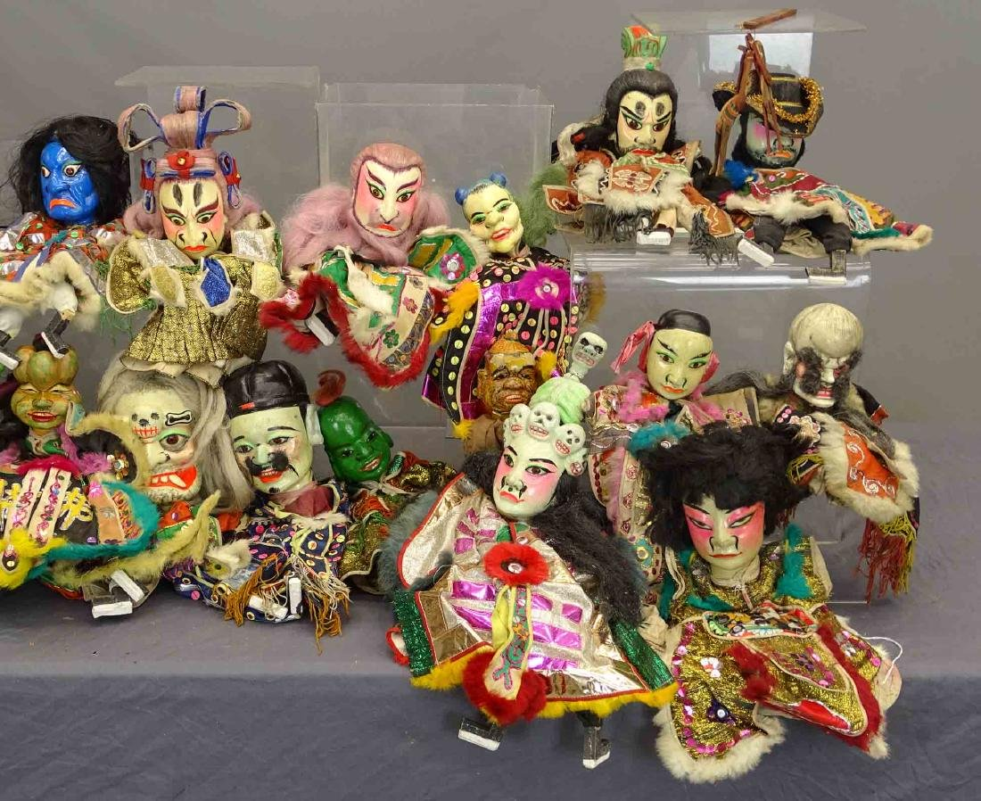Siamese Puppets - 3