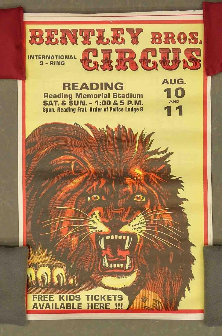 Barnum & Bailey Circus Poster - 2