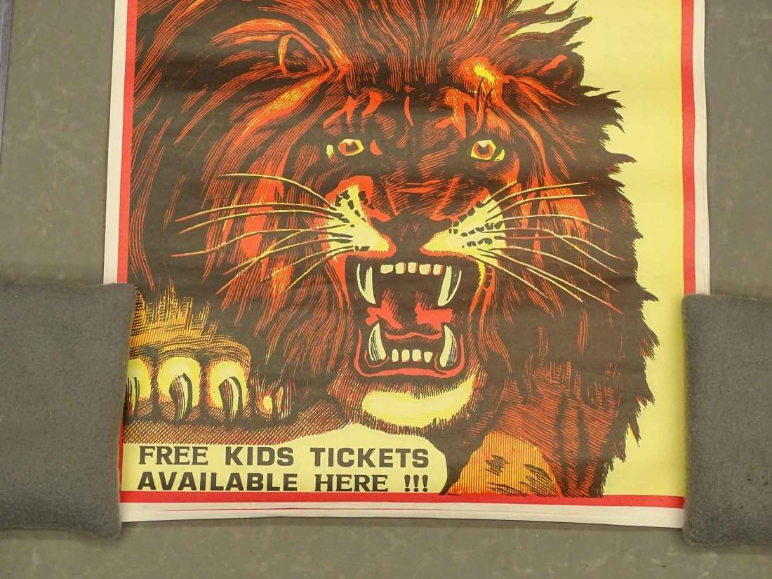 Barnum & Bailey Circus Poster - 4