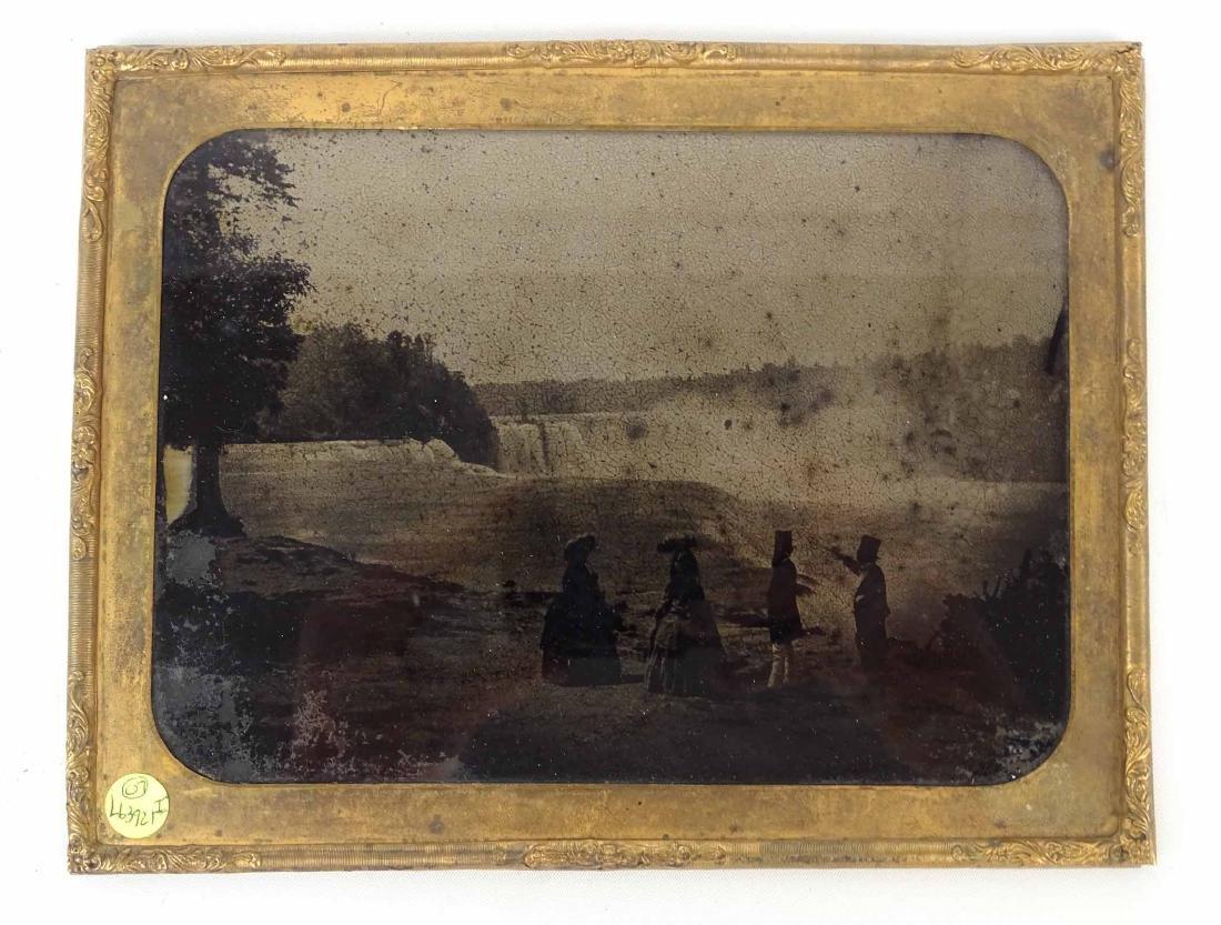 Early Niagara Falls Photograph
