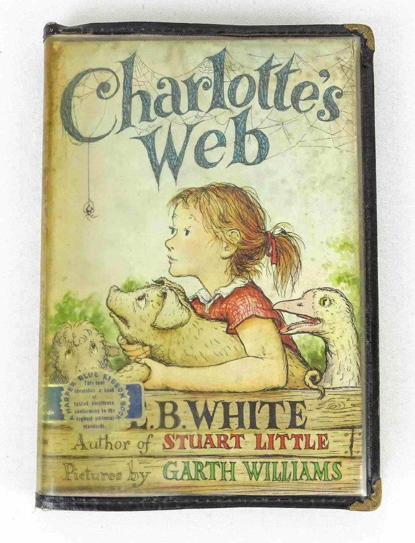 First Edition Of Charlottes Webb