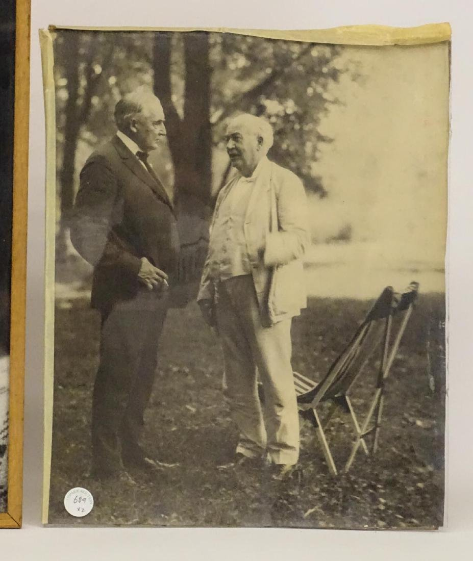 Photograph Lot Of Einstein, Edison & Firestone - 3