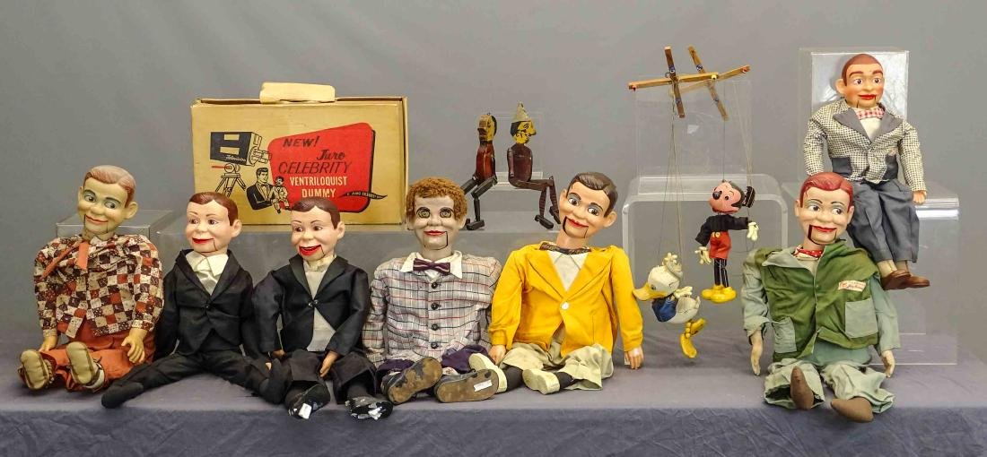 Marionette & Ventriloquist Lot