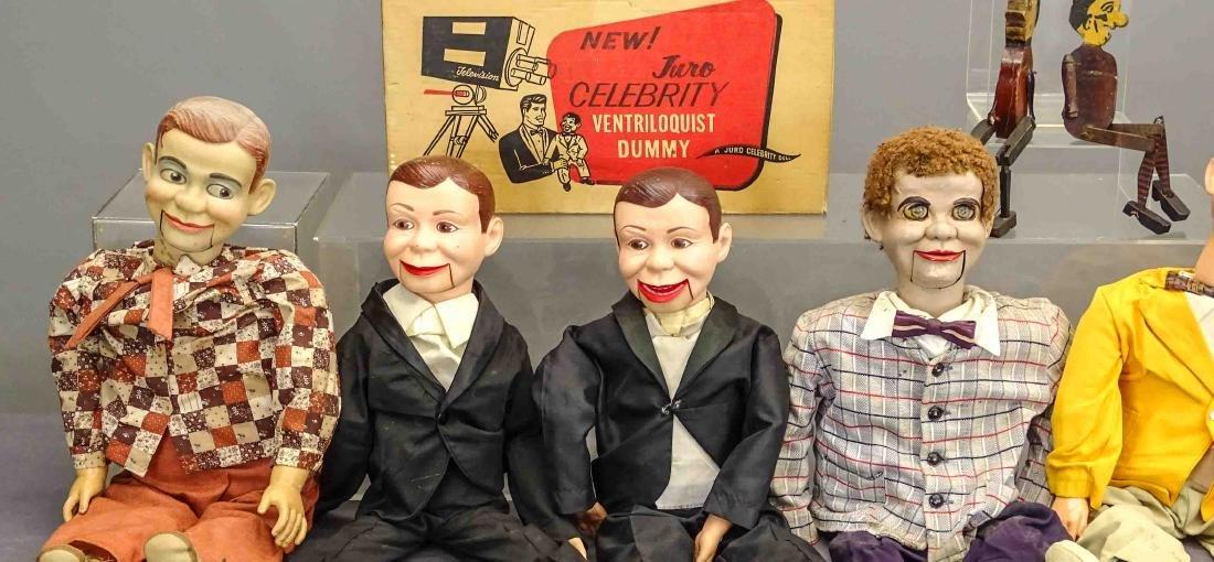 Marionette & Ventriloquist Lot - 2