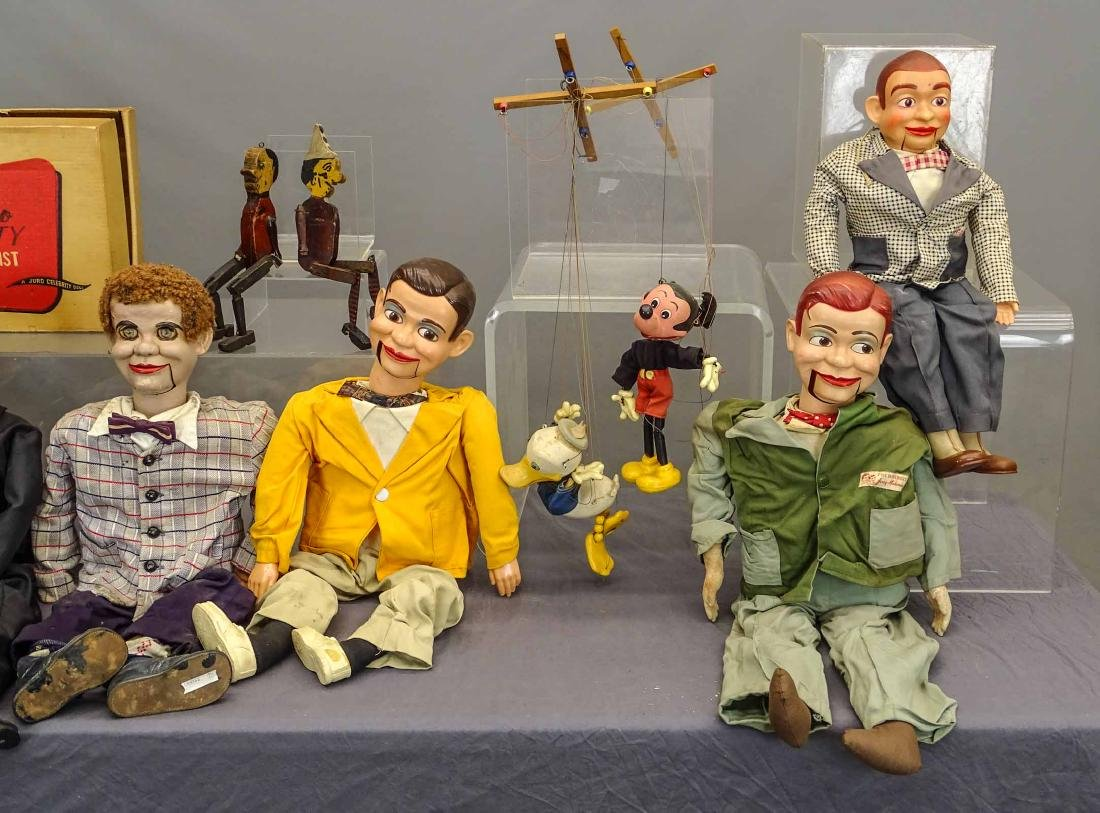 Marionette & Ventriloquist Lot - 3