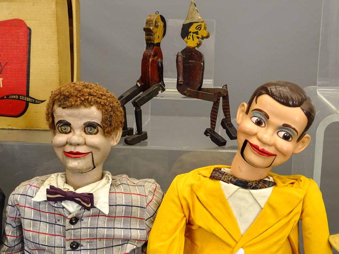 Marionette & Ventriloquist Lot - 4