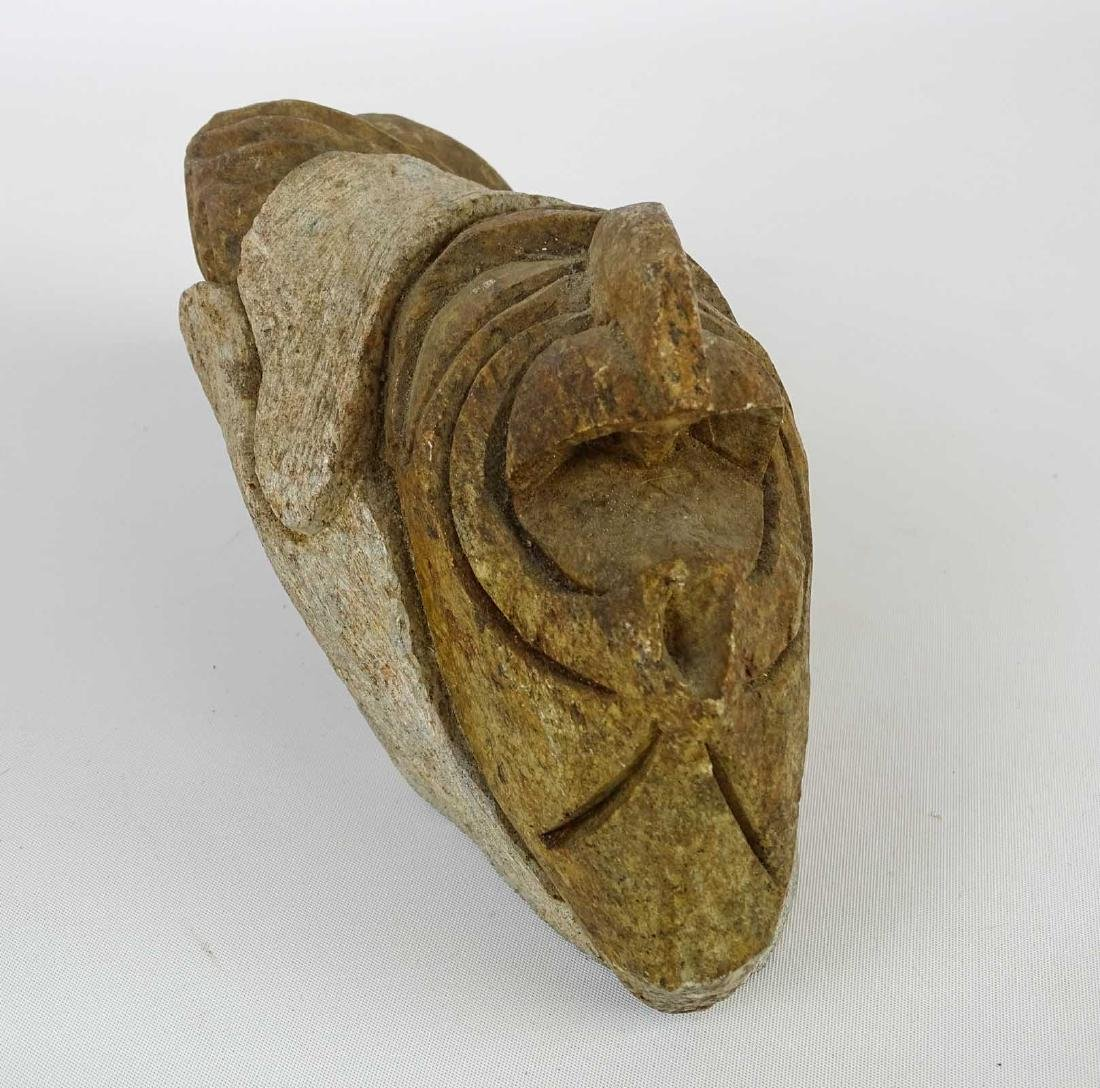 Native American Stone Sculpture - 3