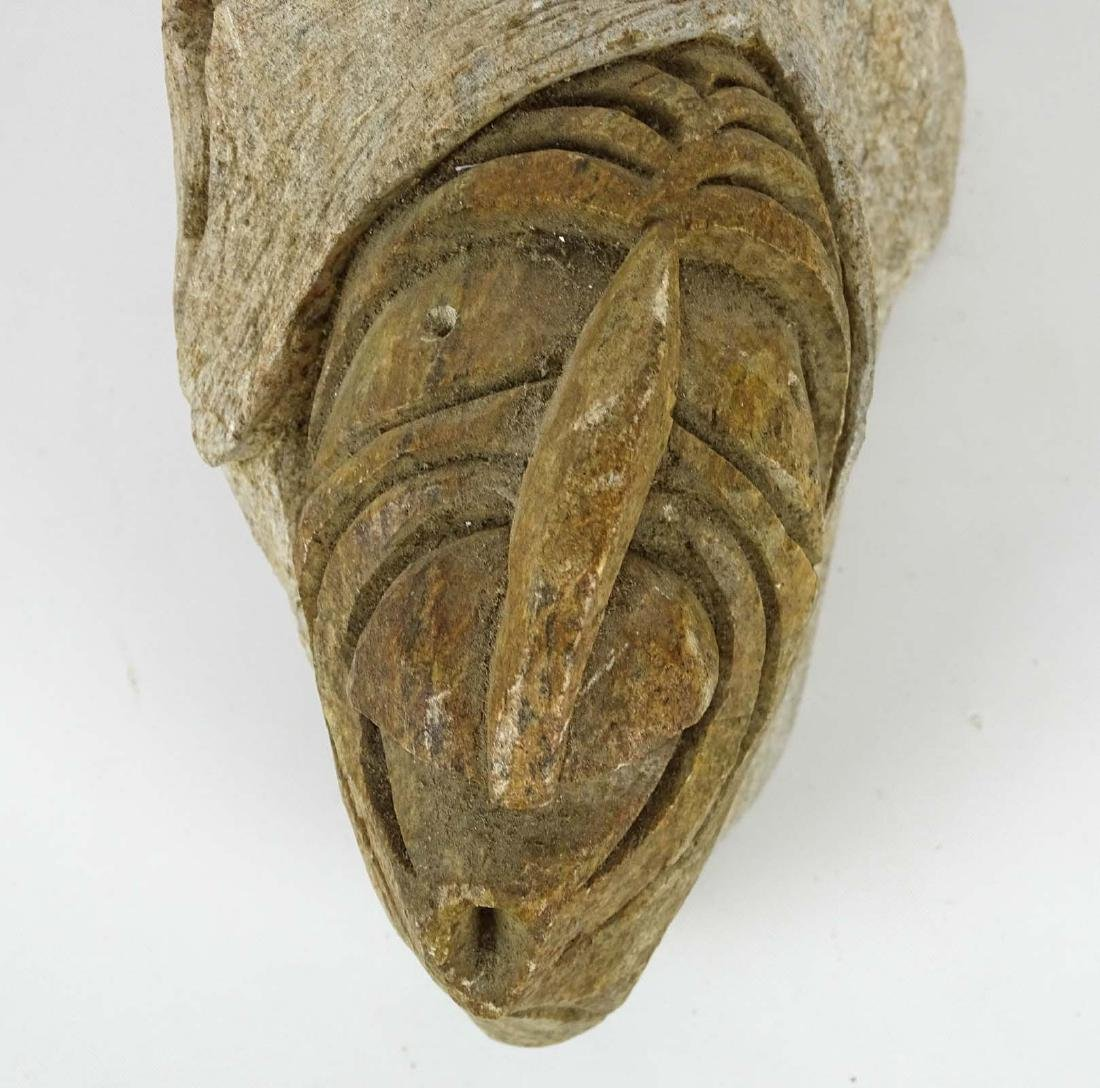Native American Stone Sculpture - 4