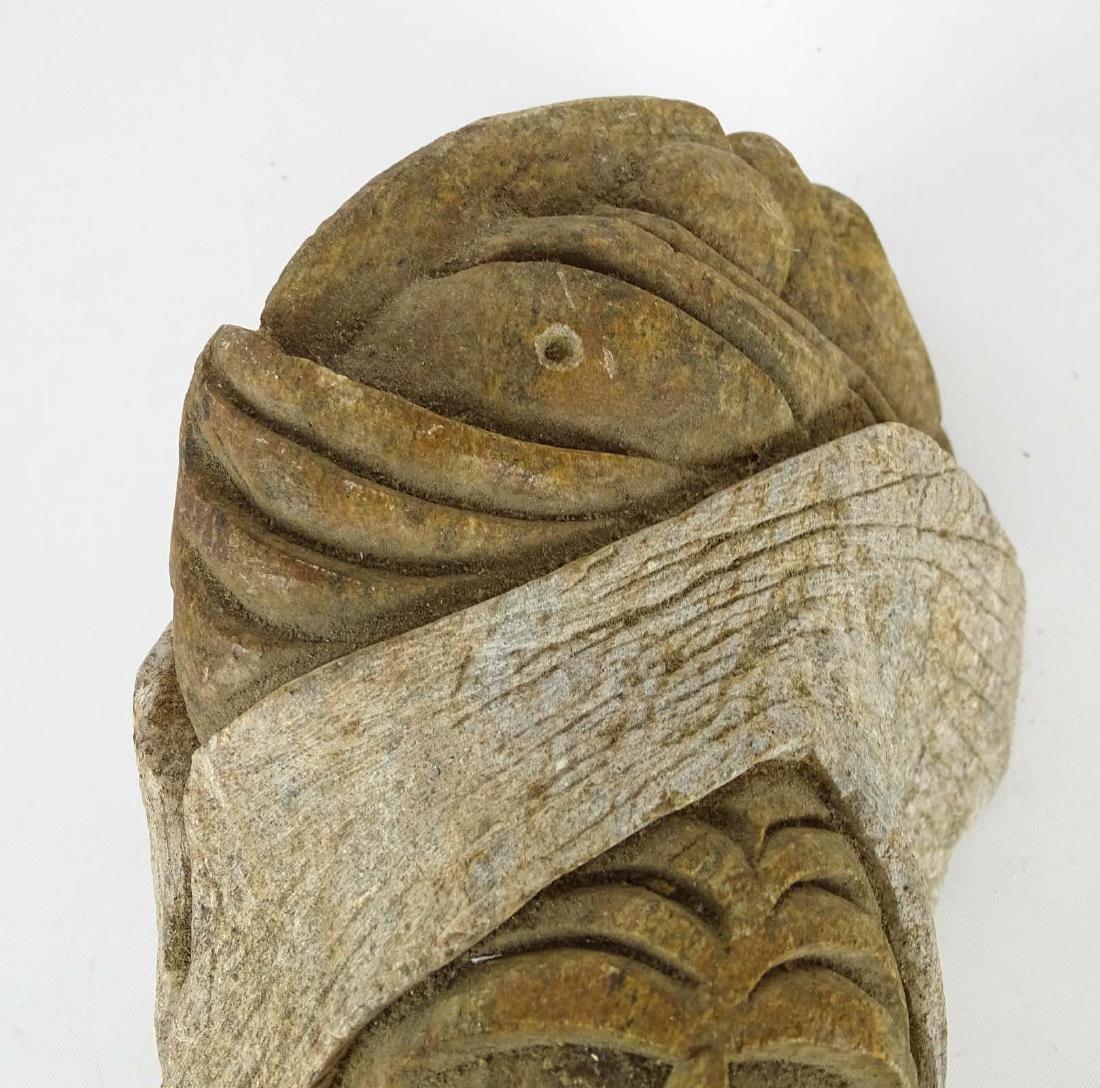 Native American Stone Sculpture - 5