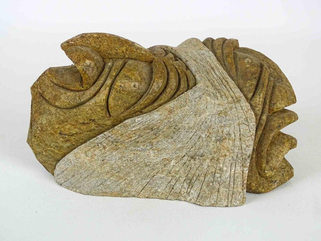 Native American Stone Sculpture - 6