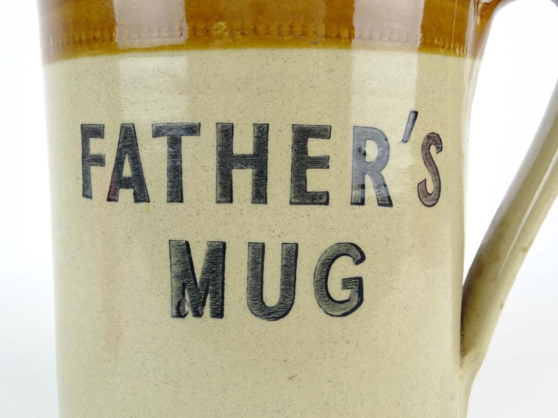 "Early Mug ""FATHERS MUG"" - 8"