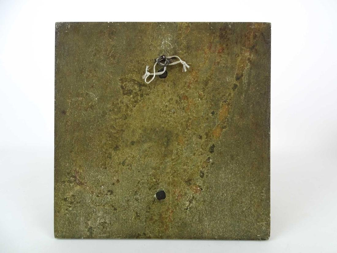 """Early Marble And Bronze Plaque """"REDITIO DOMUM"""" - 5"""