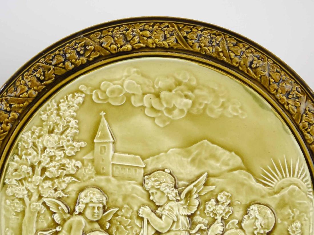 Pair German Porcelain Plaques - 4