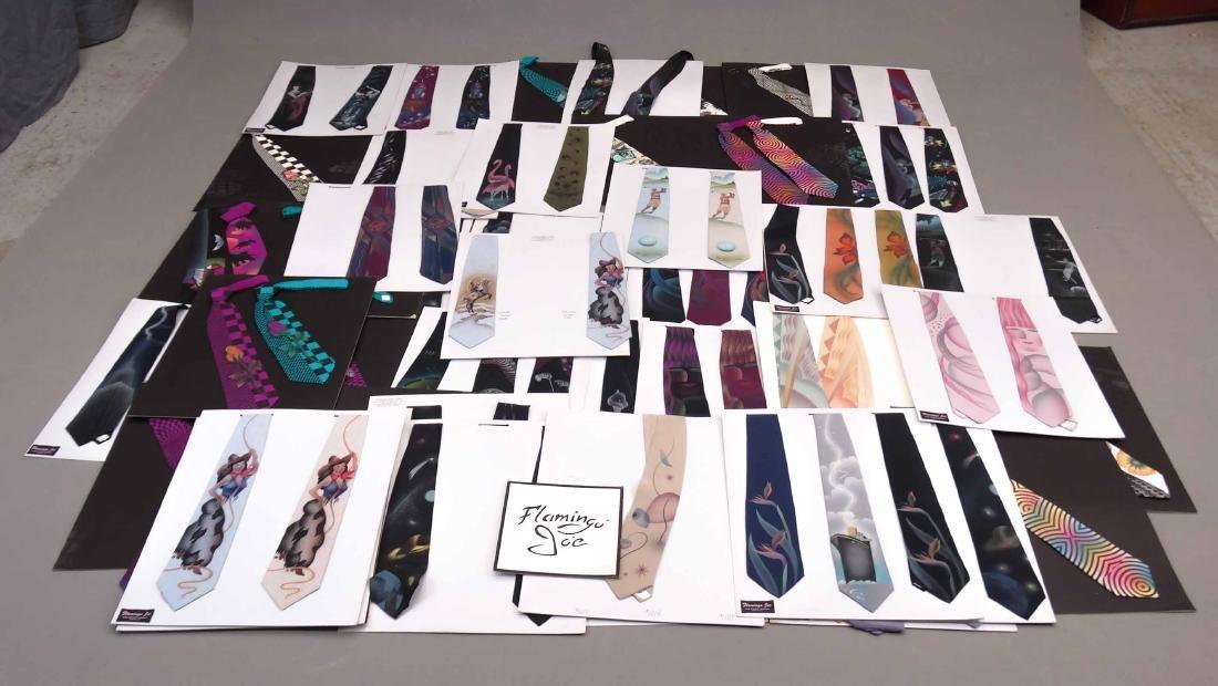 Vintage Tie Displays
