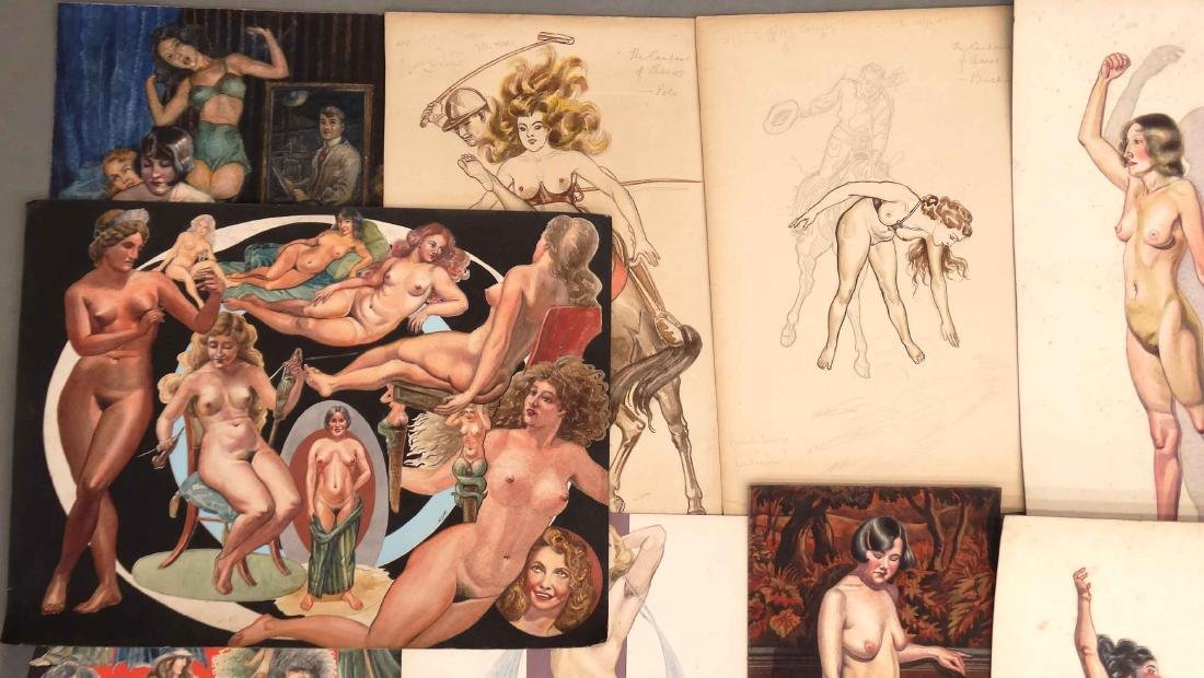 H. Cobb, Collection Of Original Illustrations - 2