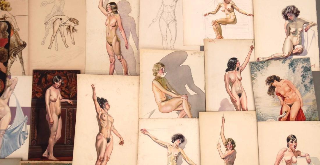 H. Cobb, Collection Of Original Illustrations - 3