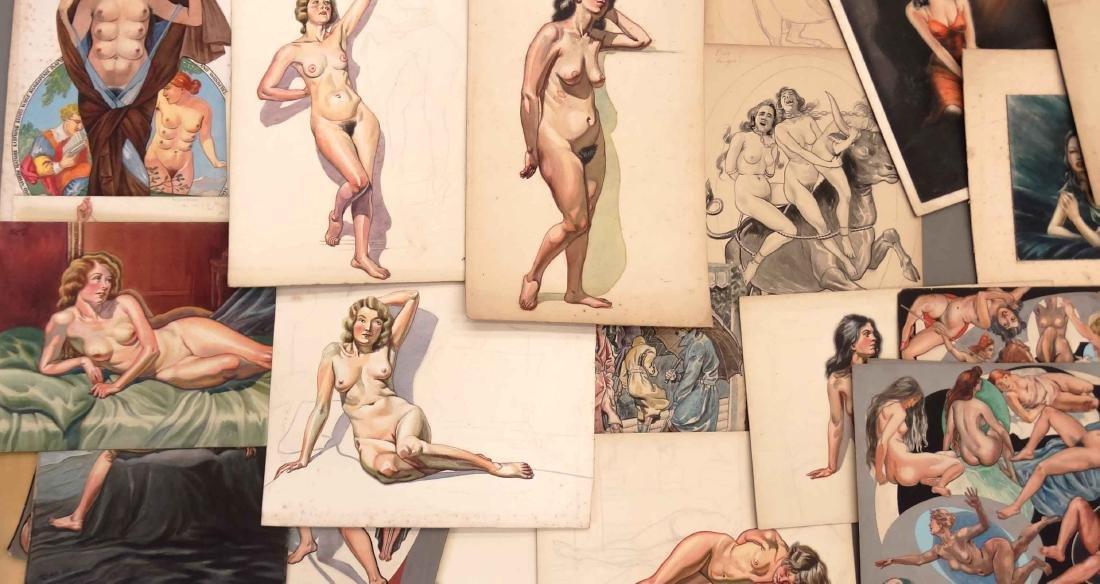 H. Cobb, Collection Of Original Illustrations - 4