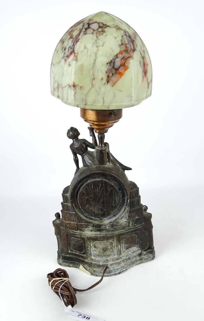 Rare Prohibition Repeal Table Lamp - 6