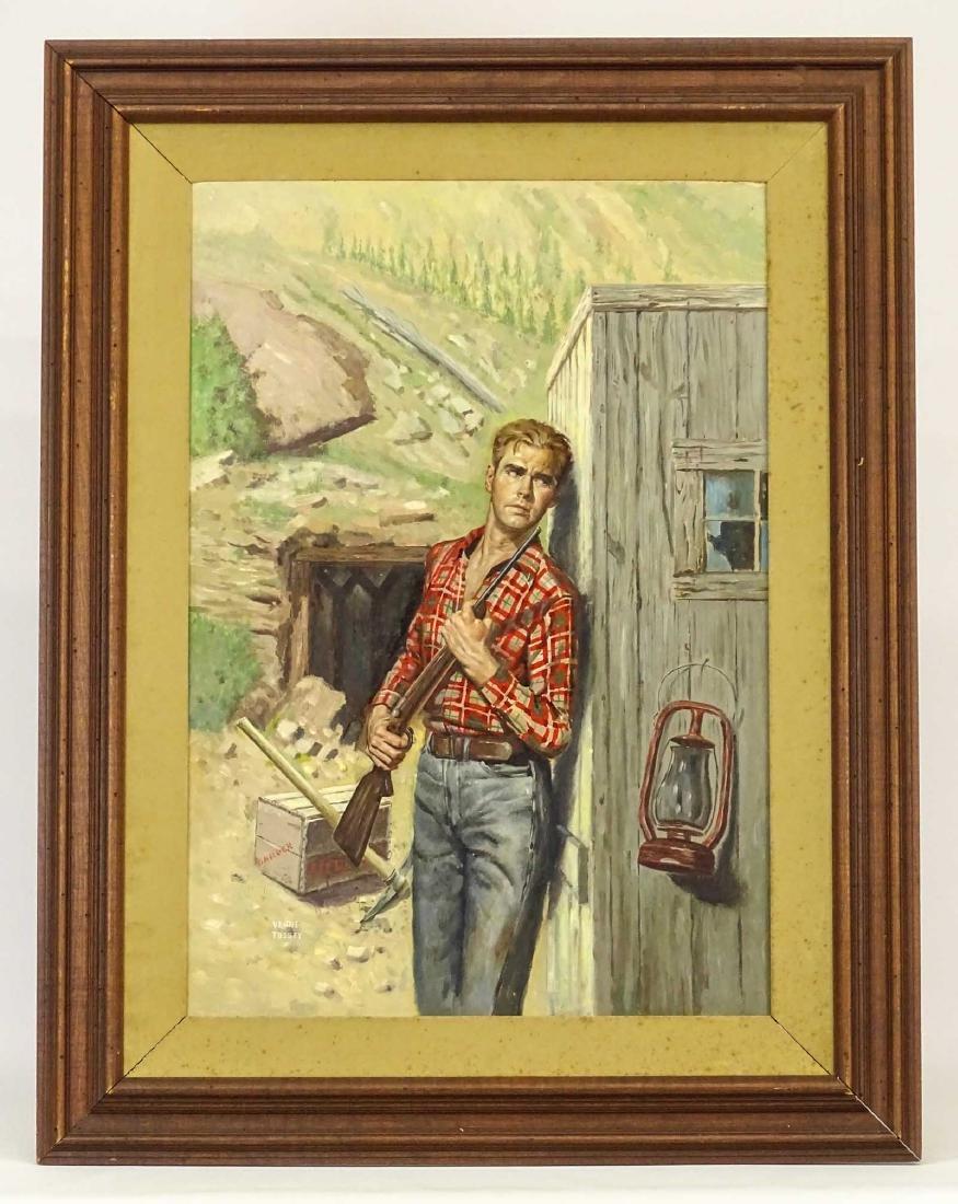Verne Tossey (1920-2002), Paperback Illustration