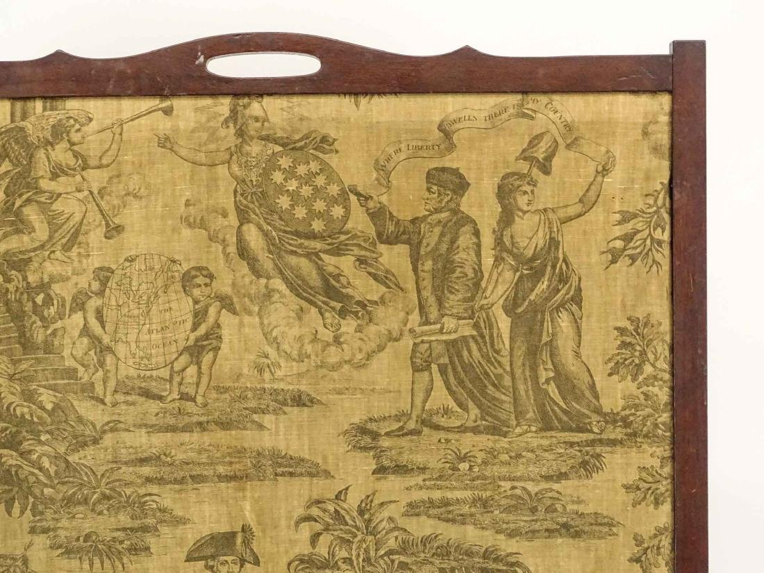 Early Lady Liberty Textile - 2