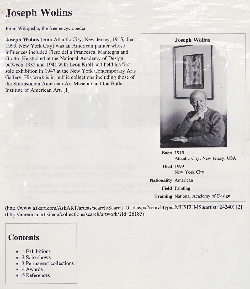 Joseph Wolins (1915-1999) - 6