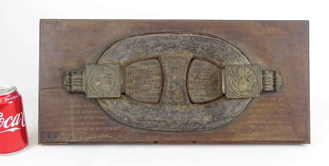 USS Maine Shipwreck Chain Link Artifact