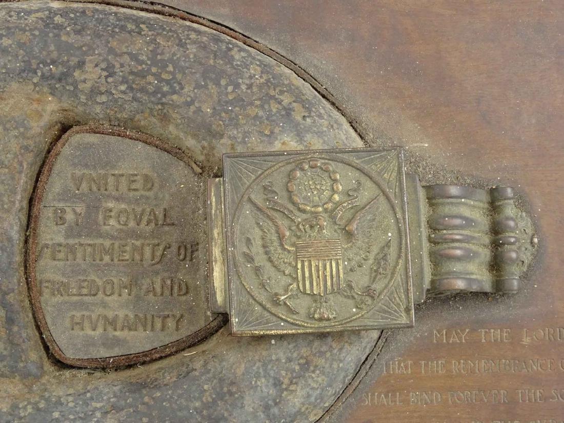 USS Maine Shipwreck Chain Link Artifact - 5
