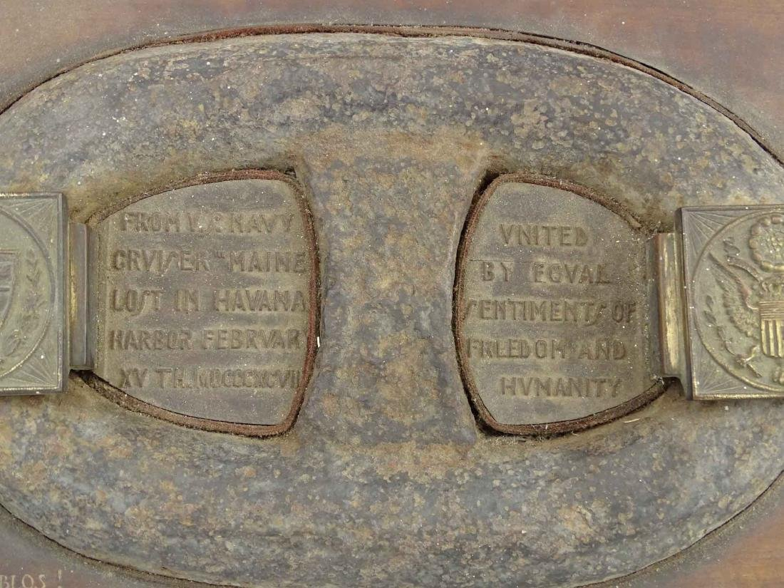 USS Maine Shipwreck Chain Link Artifact - 6