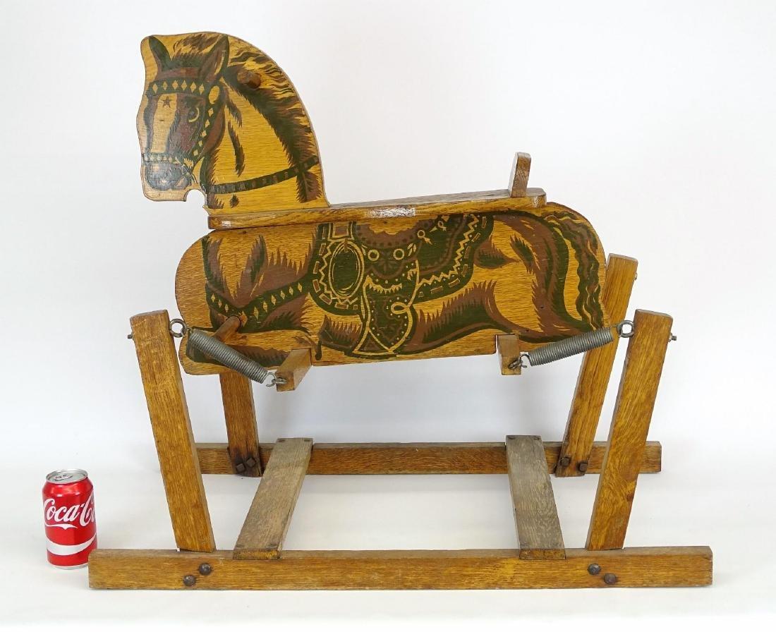 Vintage Child's Riding Horse